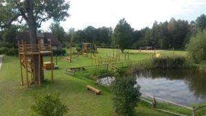 Dīķi, sporta un bērnu laukumi